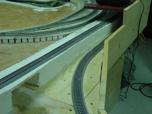 model railway scenery model railroad wiring laying track sub roadbed